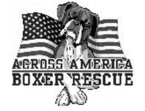 Across America Boxer Rescue Logo
