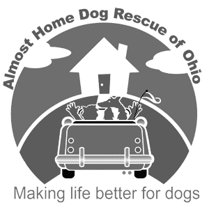 Almost Home Dog Rescue of Ohio Logo