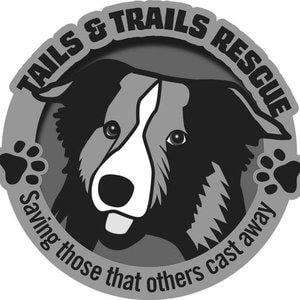 Tails and Trails Rescue Logo