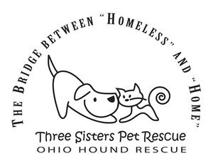 Three Sisters Pet Rescue Logo